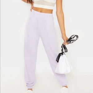 Brand new lilac jogger with tags